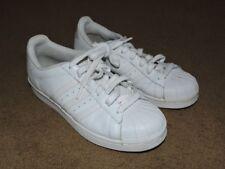 Adidas Superstar WHITE on WHITE Sneakers SZ: MEN 6, WOMEN 7, UK 5-1/2, 789006
