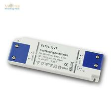 "LED transformador ""super-slim"" 12v dc 20w transformador de LEDs CED, controladores, fuente de alimentación"