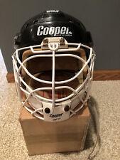 Vintage Cooper Sk2000 L Helmet Hm-30 Cage Chin Sling Goalie Combo Chin Sling