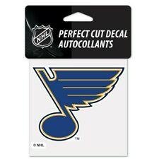 St Louis Blues NHL Wincraft Perfect Cut Decal 4x4 FREE SHIP!