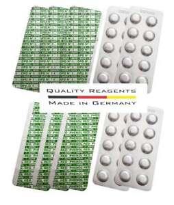 100 Tabletten Rapid Chlor DPD 1 + pH Wert Phenol Red für Wassertester Pooltester
