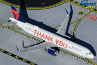"Delta Air Lines A321 ""Thank You""  Gemini Jets GJDAL1927 Scale 1:400 IN STOCK"
