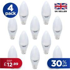 LED Candle Light Bulb BC B22 E14  Energy Saving Lamp Warm Cool Day White A+