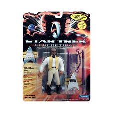 "STAR TREK GENERATIONS ""PIRATE WORF"" COLLECTORS ACTION FIGURE NEW/SEALED"