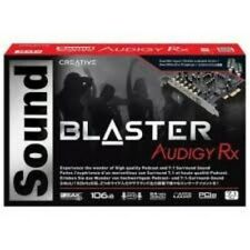 Sound Blaster Audigy Rx 7.1 PCIe Sound Card With High Performance Headphone#Azg