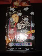 ELVIS PRESLEY 1992 THE CARDS OF HIS LIFE-SER.2 SEALED TRADING  CARD BOX-INSERTS