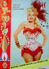 Marilyn Monroe Magazine 1954 Piff Bruno Bernard 20th Century Fox NM/MT COA