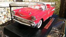 Chevrolet Bel Air Convertibile Rosso 1957 1/18 cod. 92108 Road Tough in scatola.