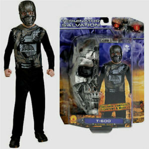 Terminator Salvation T-600 Costume Size 7 8 10 Medium Child New 2009