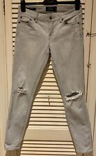 Lucky Brand Distressed Skinny Lolita Jeans From Anthropologie W 27 Uk 8/10