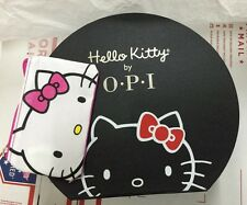 """Hello Kitty by OPI """"Hat"""" Display Case/Storage Box + Hello Kitty Cosmetic Bag OPI"""