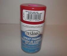 Testors Model Master GLOSS DARK RED Enamel Spray Paint Can  3 oz. 1204