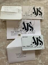 AJ's Hair, Make-Up Gift Certificate Values At $50, No Expiration.