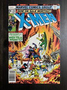 Uncanny X-Men #113 VG Bronze Age comic featuring Magneto!