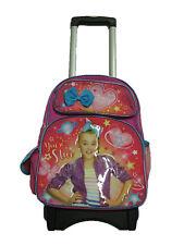 """A14999 Jojo Siwa You're a Star Large Custom Rolling Backpack 16"""" x 12"""" x 5"""""""