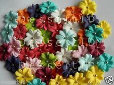 20 Colour MIX  WEDDING  blossoms sugar cake topper edible flower sugarpaste