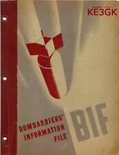 WWII BOMBARDIERS INFORMATION FILE * 1945 * CDROM * PDF