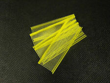 "1"" Yellow Regular Tag gun Fasteners, Barbs, Pins 5,000 per box 25mm"