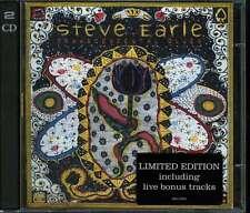 STEVE EARLE transcendental blues + CD BONUS LIVE RARE