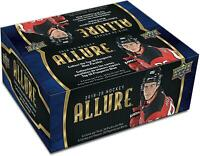 2019-20 Upper Deck Allure Hockey Factory Sealed 20 Pack Box