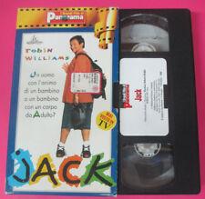 VHS film JACK Robin Williams Jennifer Lopez GRANDI FILM PANORAMA (F184) no dvd