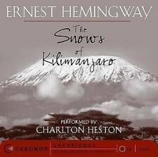 The Snows of Kilimanjaro by Ernest Hemingway (CD-Audio, 2008)
