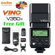 Godox V350C V350N V350S V350O V350F GN36 TTL HSS Speedlite Flash Light Battery