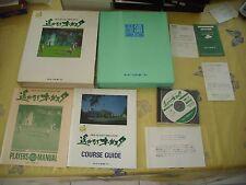 >> HARUKANARU AUGUSTA FM TOWNS MARTY JAPAN IMPORT COMPLETE IN BOX! <<