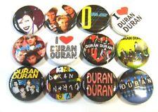 "12 Duran Duran One Inch Buttons 1"" Badges Retro 80s New Wave Simon LeBon Rio"