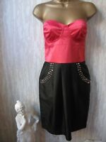 BNWT NEXT Miss N Embellished Red and Black  Party Dress UK 12 RRP £ 50❤