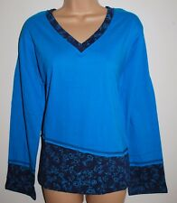 New Fair Trade Cotton Top 26 28 Hippy Boho Ethnic Hippie Festival Plus Size