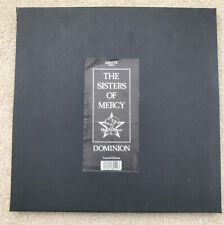 """The Sisters of Mercy """" Dominion """"-MR43TB Vinyl  Box Set-Limited Edition-1988 UK"""