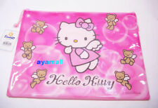 Sanrio Hello kitty BIG/B4 meshed  document bag-angel