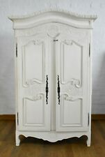 Antique style painted French armoire - double wardrobe