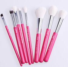 8PCS Red Natural Hair Brush Tools Foundation Eye Makeup Brushes Set Jessup