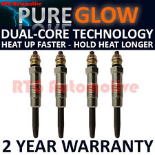 4X FOR PEUGEOT J5 J7 J9 J 5 7 9 DIESEL HEATER GLOW PLUGS GP92424