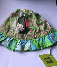 Oilily Baby Girls Size 2 Summer Hat Age 1-2 Years 12-24 Months BNWT