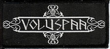 Voluspaa Patch Black Viking Metal Thor Windir Amon Amarth Windir Vikings