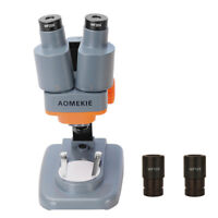 20X 40X Microscope Binoculars LED 10X 20X Eyepiece For PCB Soldering Repairing