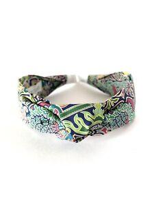 Retro Headband Handmade Hair Band Hair Hoop Accessories Liberty London Fabric