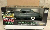 "Ertl American Muscle 1949 Mercury coupe stock ""Happy Days ""  1/18 BOX WEAR  3704"