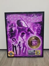 Jimi Hendrix Purple Haze Gold 45 Record. Framed Gold Record plated in 24Kt gold