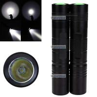 2pcs  Q5 2000 Lumens LED Mini Flashlight Camping Torch Light 3 Mode Black FY