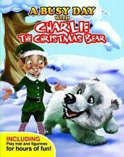 Storybook Toy and Play Mat  A Busy Day with Charlie the Christmas Bear NEW