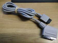 NINTENDO WII OFFICIAL GENUINE RGB SCART TV AV CABLE LEAD ADAPTER - RVL-013 2.5m