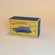 Matchbox Lesney 38 b Vauxhall Victor Estate empty Repro D style Box