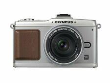 Olympus Mirrorless Single-Lens Pen E-P2 Pancake Kit Silver E-P2Pkit-Slv