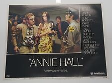 WOODY ALLEN SIGNED ANNIE HALL AUTO AUTOGRAPH 11X14 PHOTO JSA CERTIFICATE