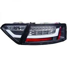 Designrückleuchten Rückleuchten Set Audi A5 07-09 Schwarz LED