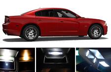 Xenon White Vanity / Sun visor LED light Bulbs for Dodge Charger (4 Pcs)